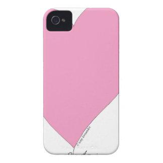 die rosa Herzen iPhone 4 Case-Mate Hüllen