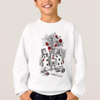 Die Rosen rot malen Sweatshirt
