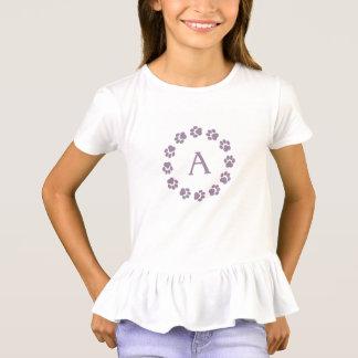 Die Rüsche-T - Shirt der Mädchen mit