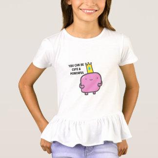 Die Rüsche-T - Shirt der niedlichen und starken