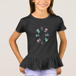 Die Rüsche-T - Shirt der Quallen-Mädchen