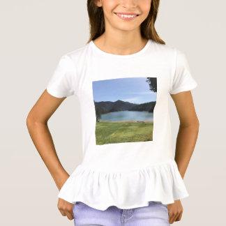 Die Rüsche-T-Shirt des Mädchens T-Shirt
