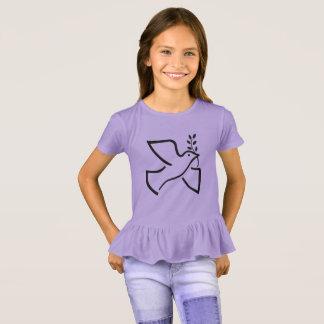 Die Rüsche-T-Stück der Paxspiration T-Shirt