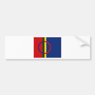 Die Sami Flagge Autoaufkleber