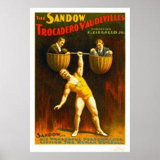 Die Sandow Trocadero Varietés Plakatdrucke
