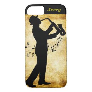 Die Saxophonspieler Iphone Abdeckung iPhone 8/7 Hülle