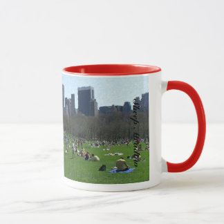 Die Schaf-Wiese im Central Park New York City Tasse