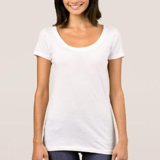 Die Schaufel-Hals-T - Shirt der Frauen folgender