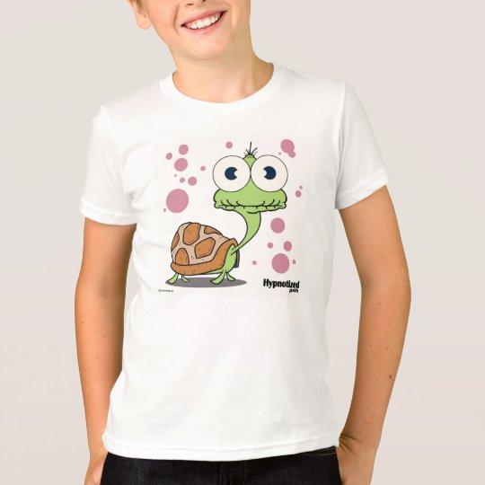 Die Schildkröte (weiß) scherzte amerikanischen T-Shirt