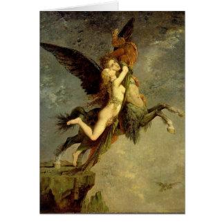 Die Schimäre durch Gustave Moreau Karte