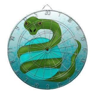 Die Schlange Dartscheibe