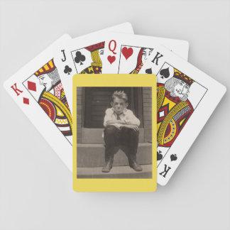 die schlechte Haltung Spielkarten