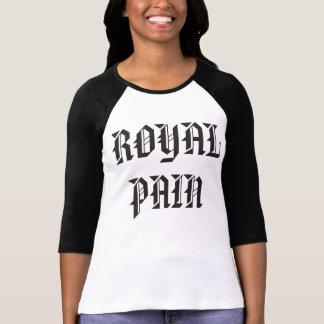 Die Schmerz-Baseball-Shirt der Frauen königliches! T-Shirt