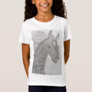 Die Schönheits-Weiß-T - Shirt der Mädchen