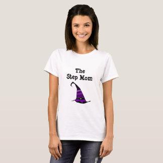 Die Schritt-Mamma mit dem Hut der Hexe T-Shirt
