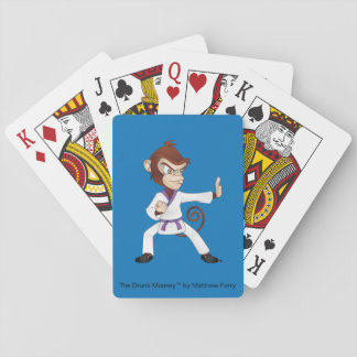 Die Schutz-betrunkener Affe-Spielkarten Spielkarten