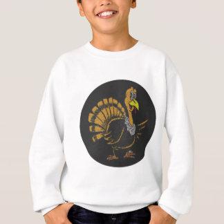 Die schwarze Türkei mit dem gelben Schnabel Sweatshirt