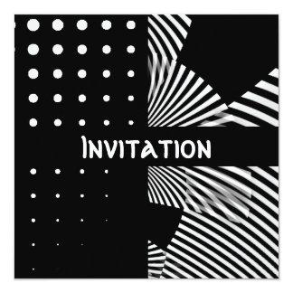 Die schwarzen Einladungen u. die weiße Art