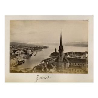 Die Schweiz 1908, Zürich Postkarte