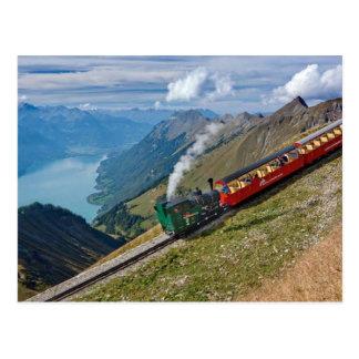 Die Schweiz-Alpen Postkarte