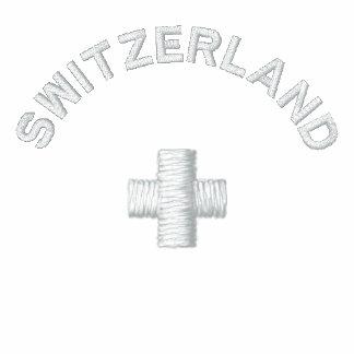Die Schweiz-Bahn-Jacke Bestickte Freizeitjacken