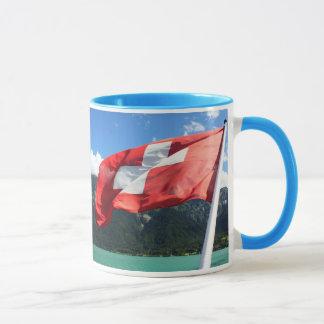 Die Schweiz-Flagge Tasse