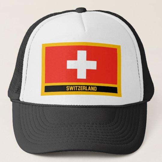 Die Schweiz-Flagge Truckermütze
