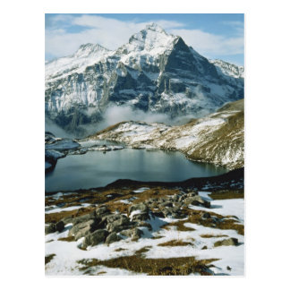 Die Schweiz, Grindelwald, Bernese Alpen, Ansicht Postkarten