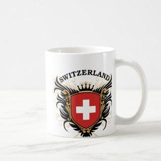 Die Schweiz Kaffeetasse