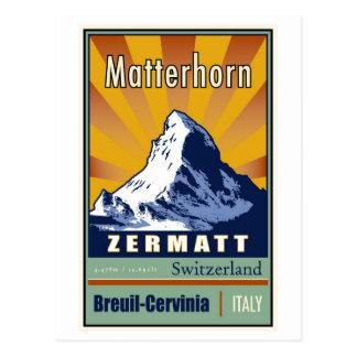 Die Schweiz Postkarte