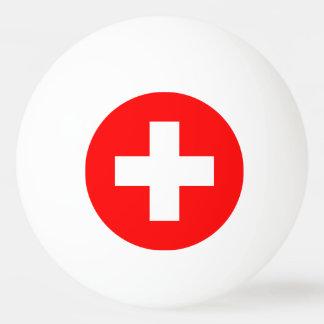 die Schweiz Tischtennis Ball