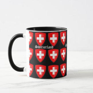 Die Schweiz-Wappen Schweizer Andenken-Text Tasse