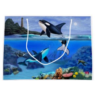 Die Schwertwal-Familie Große Geschenktüte