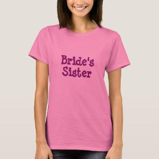 Die Schwester-T - Shirt der Braut