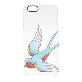 Die Seeschwalbe Durchsichtige iPhone 6/6S Hülle