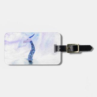 Die Seeungeheuer-Oberflächen Gepäckanhänger