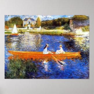 Die Seine an Asnieres Renoir schöner Kunst Poster