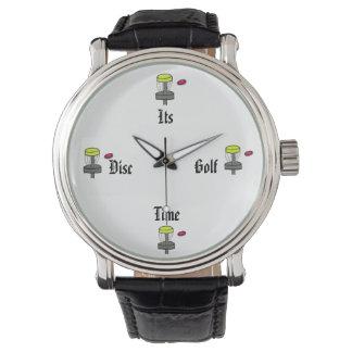 Die seine Disc-Golf-Zeitarmbanduhr Armbanduhr