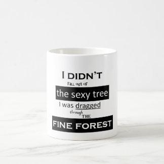 Die sexy Baum-Tasse Tasse