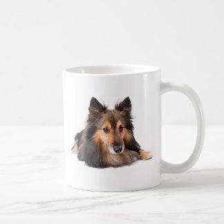 Die Shetlandinseln-Schäferhund, Shetie (Zobel) Kaffeetasse