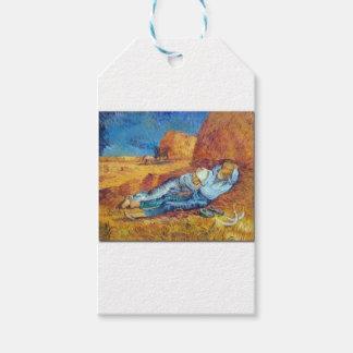 Die Siesta von Vincent van Gogh (Noon) Geschenkanhänger