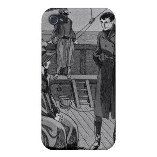 Die Sitzung zwischen Orso und Fräulein Nevil an iPhone 4 Schutzhülle