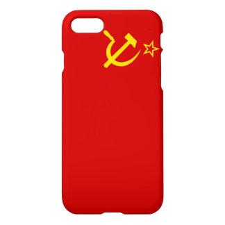 Die Sowjetunions-Flagge iPhone 8/7 Hülle