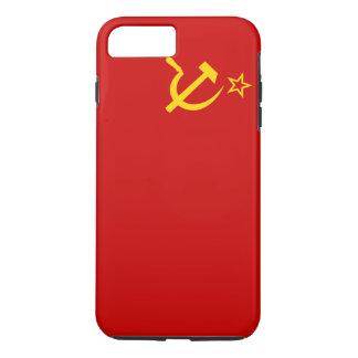 Die Sowjetunions-Flagge iPhone 8 Plus/7 Plus Hülle