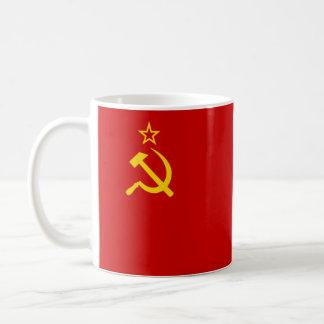 Die Sowjetunions-Flagge Tasse