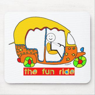 Die Spaß-Fahrt Mousepads