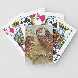 Die Spielkarten der Land-Eule