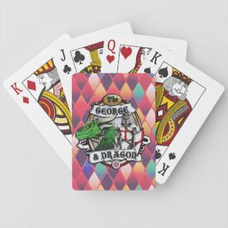 Die Spielkarten Georges und des Drachen