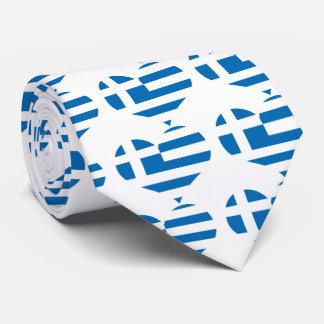 Die Staatsflagge von Griechenland Krawatten