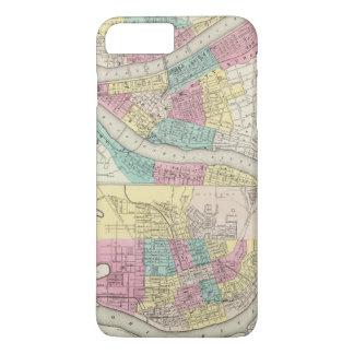 Die Städte von Pittsburgh Allegheny Cincinnati iPhone 8 Plus/7 Plus Hülle